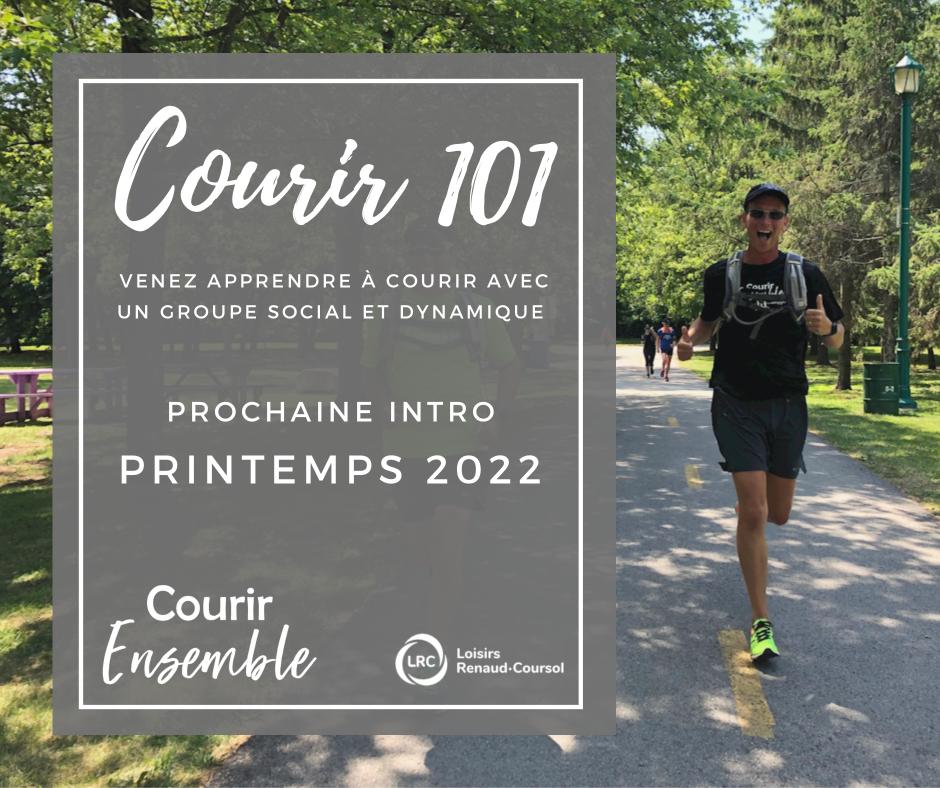 Courir 101 - nouvelle session